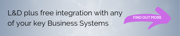 Copy of Copy of L&D plus free integration with any of your key Business Systems